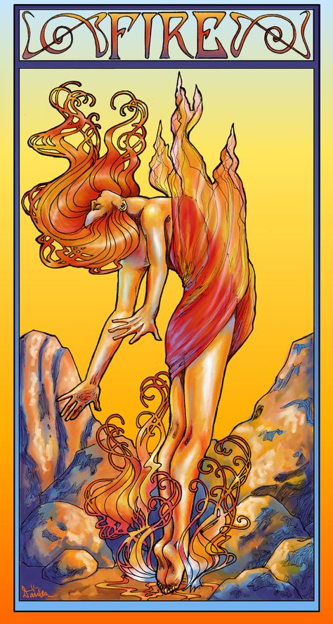 Spirit of Fire by saeriellyn.deviantart.com on @DeviantArt
