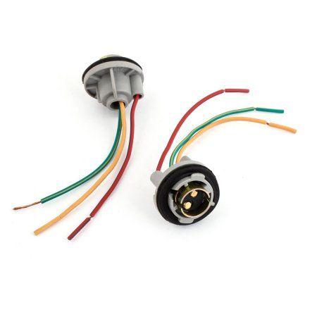 1157 Bulb Socket Brake Turn Signal Light Harness Wire Led Tail Plug 2 Pcs Walmart Com Bulb Plugs Led