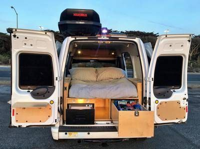 Converting Transit Connects Into Glampervans Ford Transit Camper