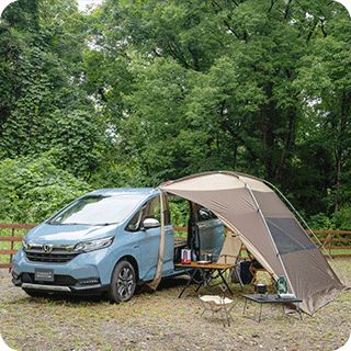 フリード の車中泊の使い勝手を検証 Hondaキャンプ アウトドア キャンプ 木材加工