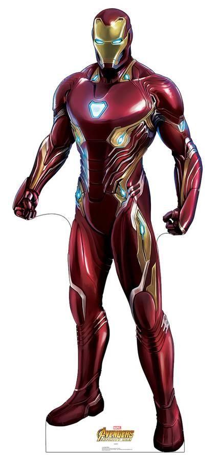 Avengers Infinity War Iron Man Cardboard Cutouts Iron Man