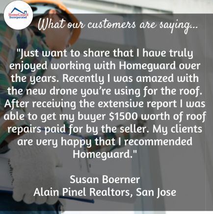 Thanks For Reviewing Us Susan We Re Super Excited About Our New Drone Roof Inspections And It S Great That This New Serv Roof Inspection Home Inspection Roof