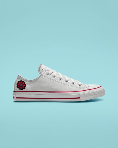 Custom Chuck Taylor All Star Patch Low Top | Converse shoes