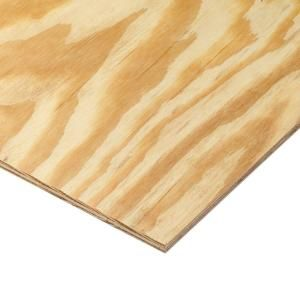 1 5 In X 4 Ft X 8 Ft Hardwood Plywood Underlayment Specialty Panel 431178 Pine Plywood Plywood Home Depot