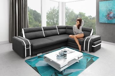 Details About Corner Sofa Bed Avant Storage Cushion Drawer
