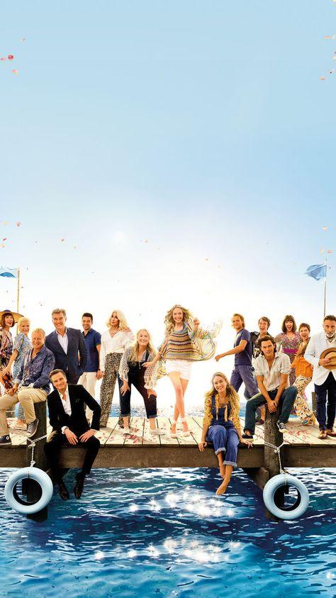Mamma Mia! Here We Go Again (2018) Phone Wallpaper | Moviemania