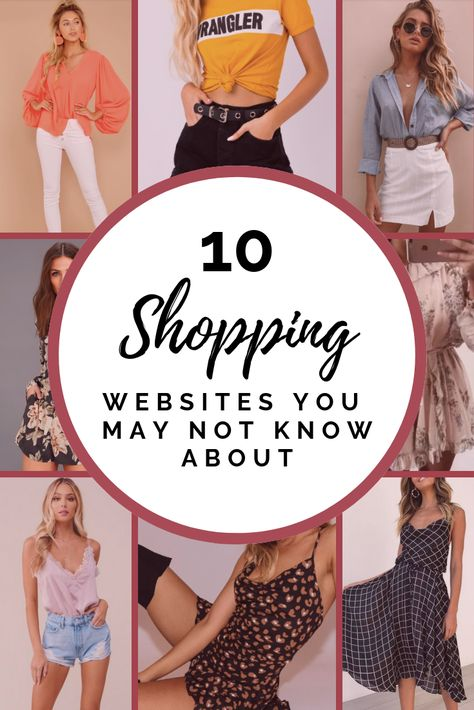 10 Must Know Shopping Websites - Affordable Clothing