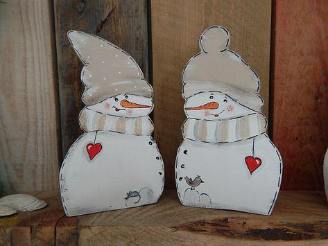 Schneemann Im Doppelpack Winterdeko Schneemann Basteln