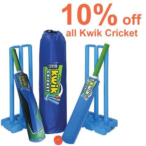 Kwik Cricket 10% off