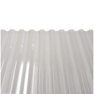 Suntuf 26 In X 12 Ft Polycarbonate Corrugated Roof Panel In Solar Grey 101931 The Home Depot In 2020 Corrugated Plastic Roofing Roof Panels Corrugated Roofing
