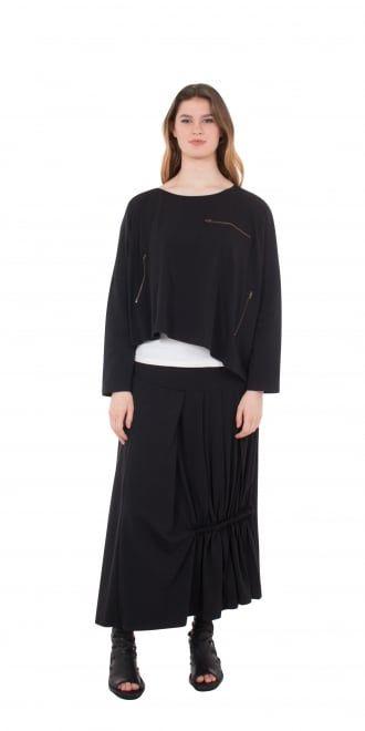Escaladya New Season Black & White Multi-functional Jacket