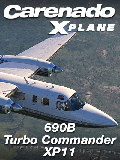 CARENADO : 690B Turbo Commander XP11 Special FeaturesVersion
