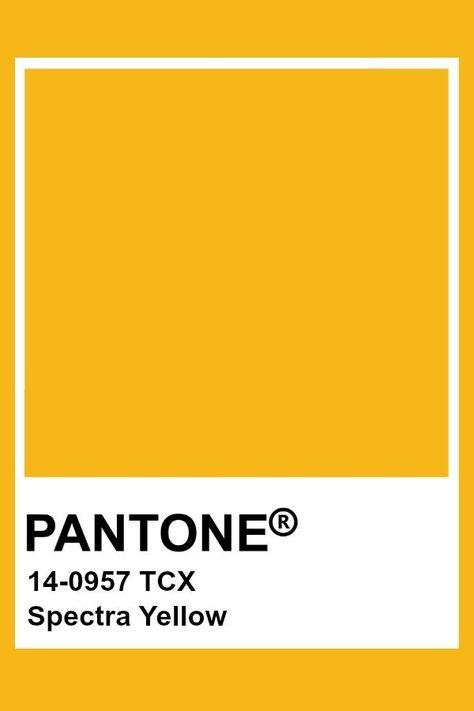 Pantone Spectra Yellow