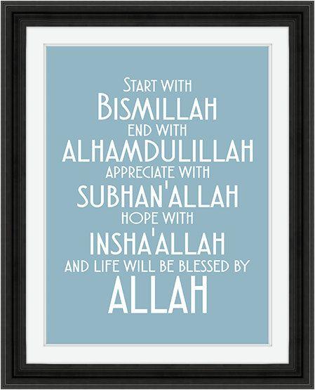 Beginnen met Bismillah Instant Digitale door
