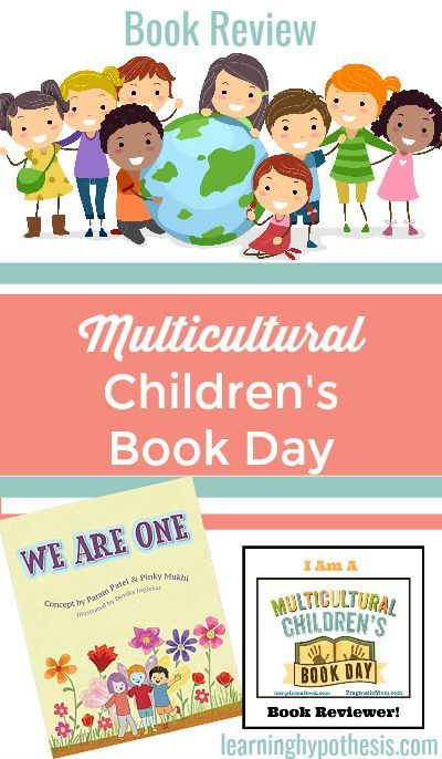 Multicultural Children's Book Day 2018 Review of We Are One