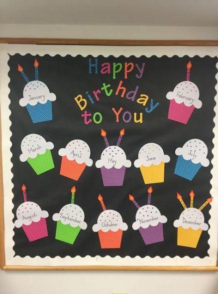 Trendy birthday board ideas for work preschool bulletin ideas