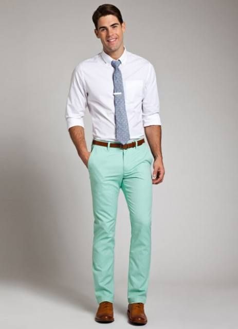 Mint Pant Outfits For Men 30 Ideas How To Wear Mint Pants Pants Outfit Men Mint Green Pants Outfit Chinos Men Outfit
