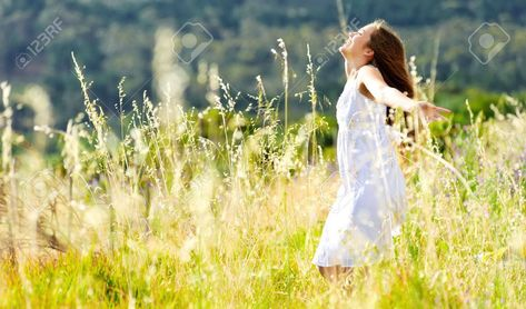 beautiful girl laughs and dances outdoors in a meadow durning sunset , #affiliate, #laughs, #dances, #beautiful, #girl, #durning