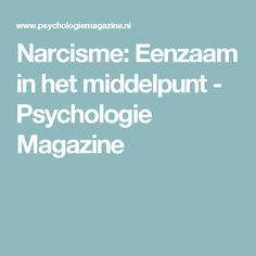 psychologie magazine narcisme
