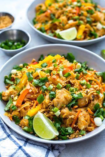 Instant Pot Chicken Pad Thai Recipe Instant Pot Dinner Recipes