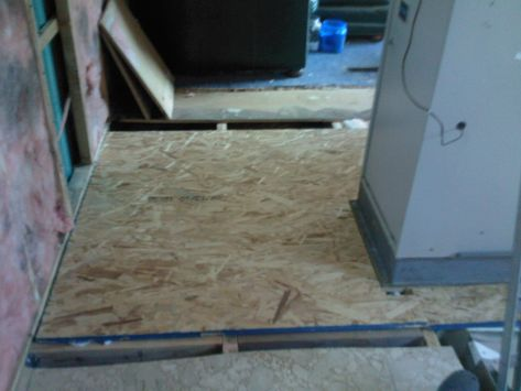 Rebuilding The Floor Remodeling Mobile Homes Mobile Home Repair Mobile Home