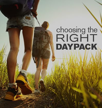 Daypacks are ideal for carrying light loads over short distances. Learn how to choose the right one. #wildernesswanderer