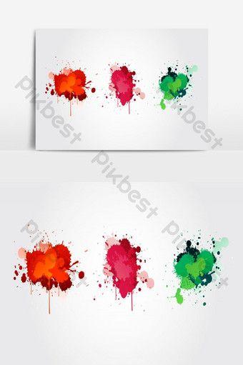Watercolor Splash Vector Png Images Ai Free Download Pikbest In 2020 Watercolor Splash Butterflies Vector Water Splash Vector