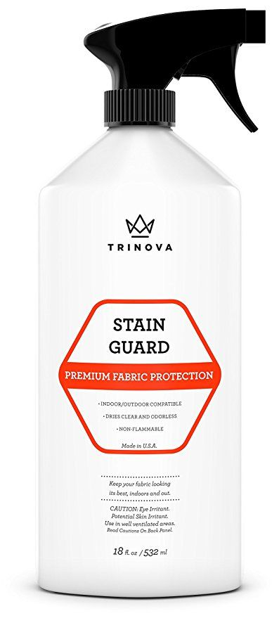 Trinova Fabric Protector Spray And Stain Guard For Upholstery Protection Repellent Safe For Your Couch Carpet Cleaning Pet Stains How To Clean Carpet Cleaning