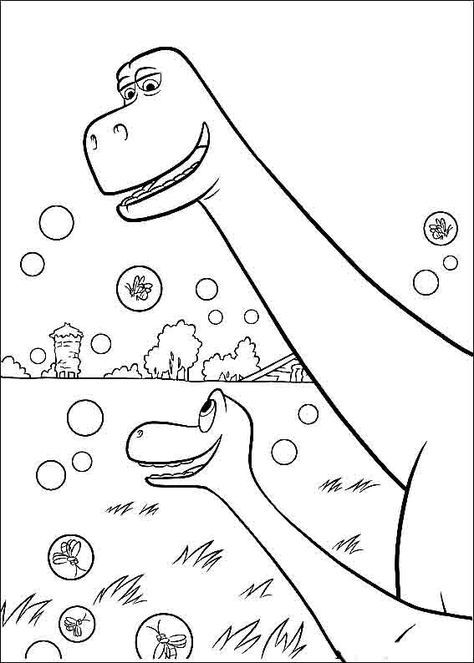 The Good Dinosaur Coloring Pages 10 Dinosaur Coloring Dinosaur