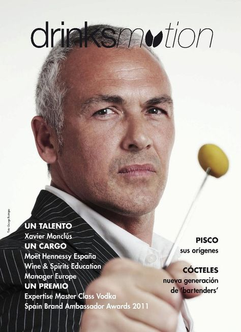 Un talento: Xavier Monclús Revista Bar Business España Edición Abril 2011 Foto: © George Restrepo 2011 https://www.facebook.com/media/set/?set=a.148368528518391.25862.143255922362985=3