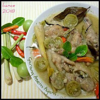 Masak Ala Mom Nayla Resep Garang Asem Ayam Tanpa Daun Pisang Resep Makanan Resep Pisang