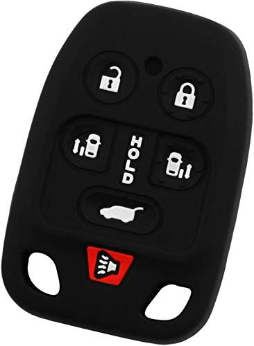 KeyGuardz Keyless Entry Remote Car Smart Key Fob Outer Shell Cover Soft Rubber Case for Ford Lincoln