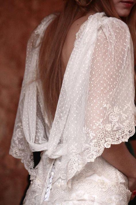 Las novias del siglo XXI adoran el vintage: marcela mansergas y helena mareque