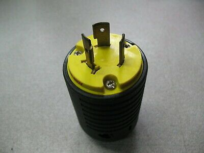 Pass Seymour L820p Twistlock Plug 20 Amp 480 Volt Plugs Seymour Power Outlet