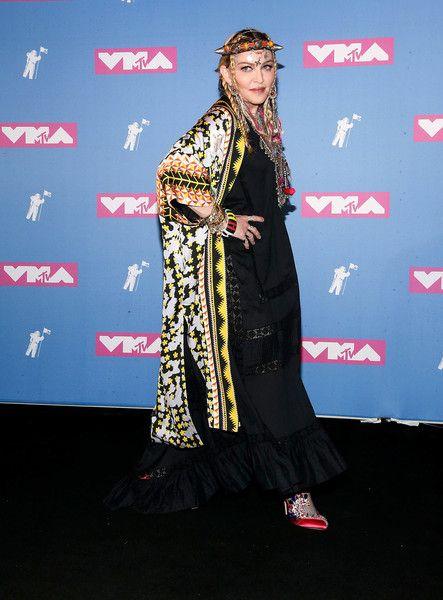 Madonna Photos Photos 2018 Mtv Video Music Awards Press Room Mtv Video Music Award Mtv Videos Video Music Awards
