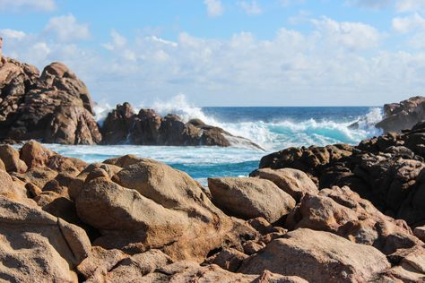 Free photo: Beach Rocks