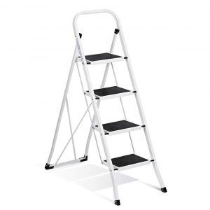 Top 10 Best Household Folding Step Stools In 2020 Step Ladders 4 Step Ladder Steel Stool
