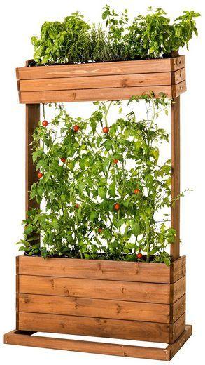 Hecht Hochbeet Cube 2 B T H 82 50 145 Cm 100 L Online Kaufen Hochbeet Pflanzen Und Kleine Garten Gestalten