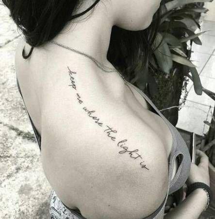 27 Ideas Tattoo Girl Shoulder Fonts Shoulder Tattoo Quotes Shoulder Tattoo Words Shoulder Tattoo
