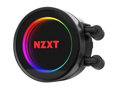 Newegg Via Ebay Nzxt Kraken X52 240mm All In One Rgb Cpu Liquid Cooler Cam Powered Infinit Water Cooler Fan Fans For Sale Kraken