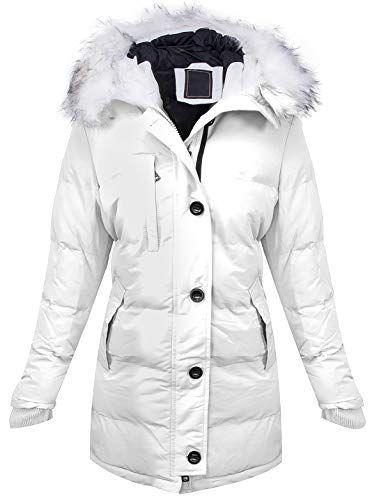 Warme Damen Winter Jacke Parka Steppjacke Winterjacke Mantel