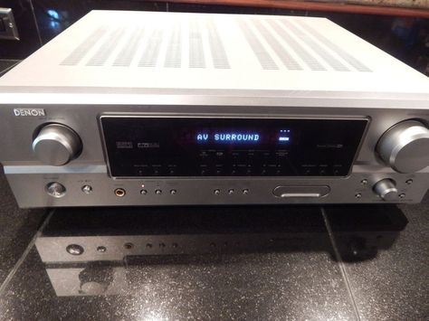 Denon AVR-485 Home Theater Surround Receiver 5.1 Electronics EUC  #Denon
