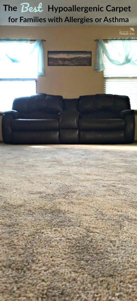 The Best Hypoallergenic Carpet For Families With Allergies Or Asthma Hypoallergenic Carpet Carpets For Kids Best Carpet