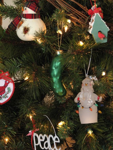 Christmas Ornament Legends Do You Have A Pickle On Your Christmas