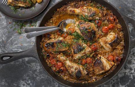 Reddit Recipes Moroccan Braised Chicken Lentils Smoked