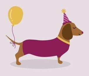 Birthday Dachshund Birthday