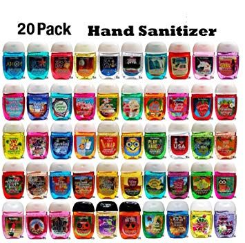 Bath And Body Works Anti Bacterial Hand Gel 20 Pack Pocketbac