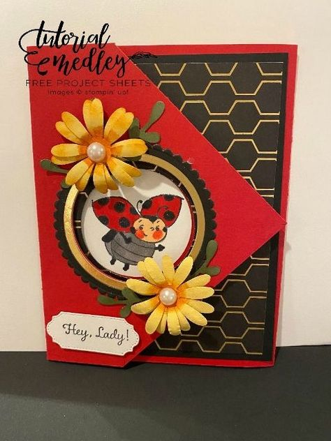 Photo of Detail on how you earn free Sale a Bration product and The Little Ladybug Stamp Set