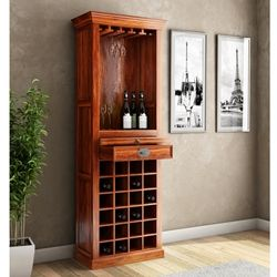 Lovedale Rustic Tall Narrow Liquor Display Cabinet With Glass Stem Racks Bar Cabinet Wine Bar Cabinet Glass Cabinet Doors