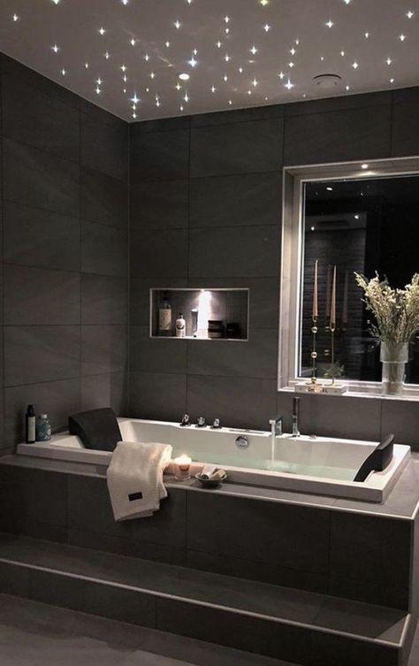 Dream House Interior, Luxury Homes Dream Houses, Mansion Interior, Home Room Design, Home Interior Design, Grey Bedroom Design, Bathroom Design Luxury, Dream Bathrooms, Modern Bathrooms
